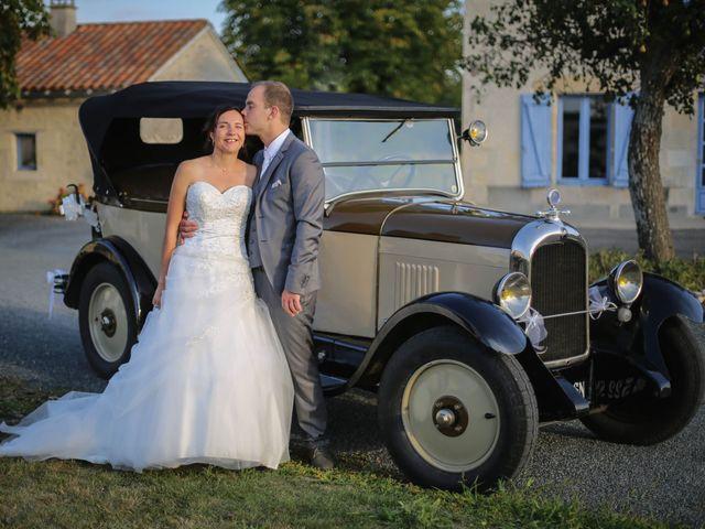 Le mariage de Samuel et Myriam à La Villedieu-du-Clain, Vienne 87
