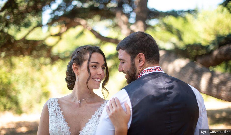 Le mariage de Théophile et Anaïs à Lézignan-Corbières, Aude