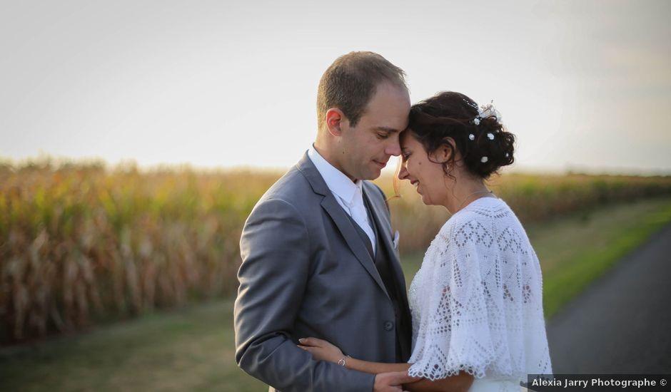 Le mariage de Samuel et Myriam à La Villedieu-du-Clain, Vienne