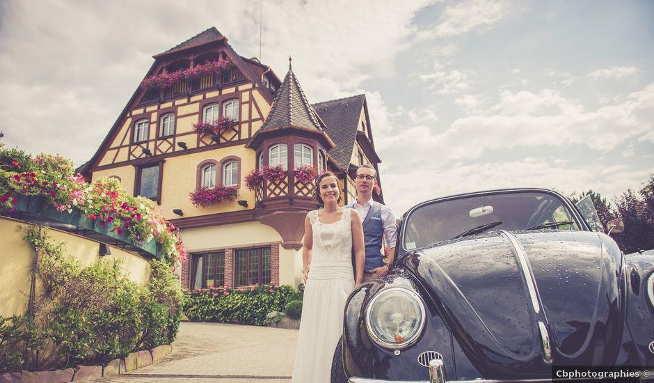 Le mariage de Remy et Anne à Obernai, Bas Rhin
