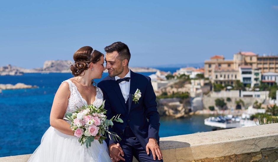 Le mariage de Jean-Baptiste et Marine à Marseille, Bouches-du-Rhône