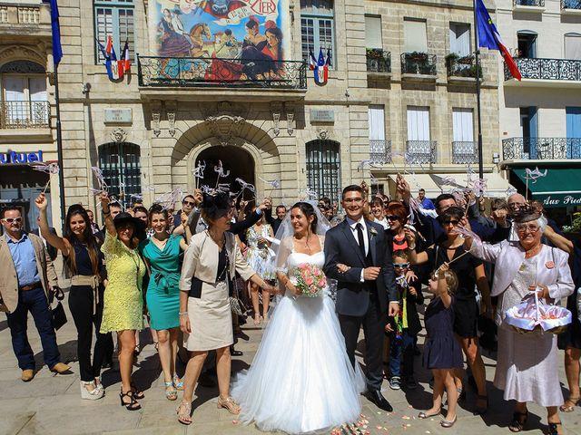 Le mariage de Fabien et Camille à Béziers, Hérault 34