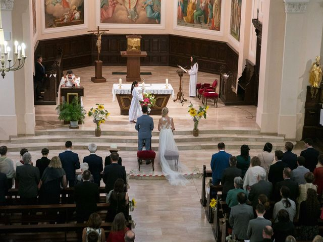 Le mariage de Lucas et Laurence à Kintzheim, Bas Rhin 17