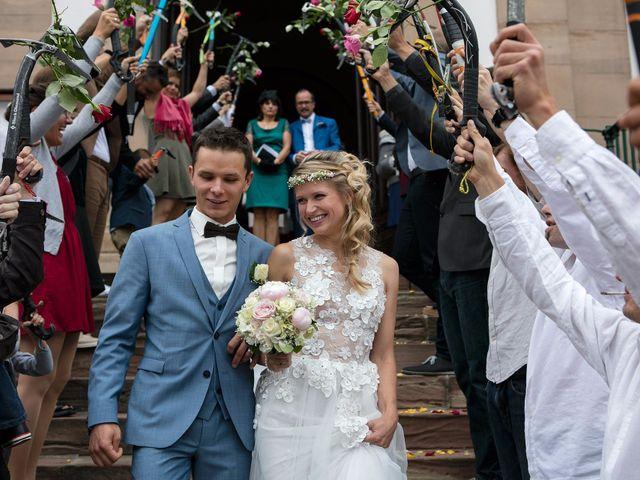 Le mariage de Lucas et Laurence à Kintzheim, Bas Rhin 24
