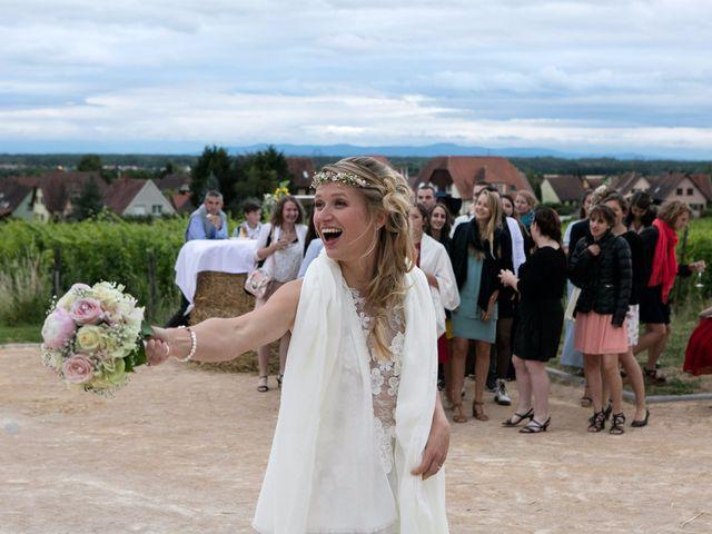Le mariage de Lucas et Laurence à Kintzheim, Bas Rhin 33