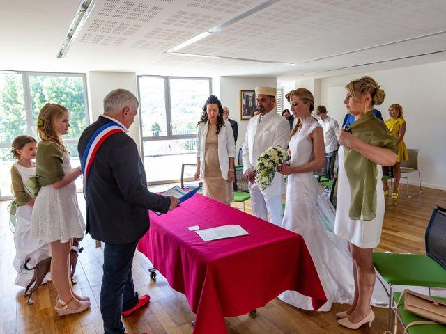 Le mariage de Hakim et Karolina à Beure, Doubs 5