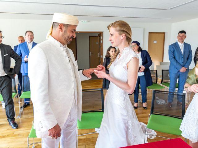 Le mariage de Hakim et Karolina à Beure, Doubs 6
