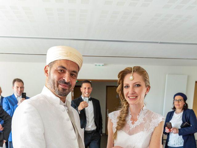 Le mariage de Hakim et Karolina à Beure, Doubs 7