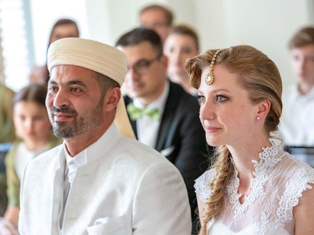 Le mariage de Hakim et Karolina à Beure, Doubs 8