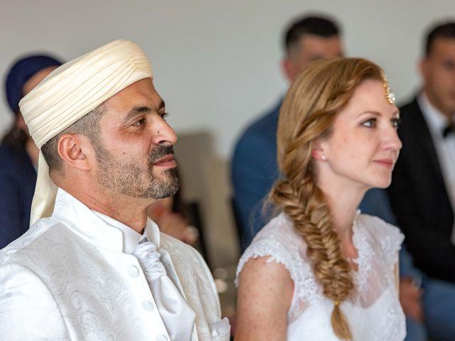Le mariage de Hakim et Karolina à Beure, Doubs 9