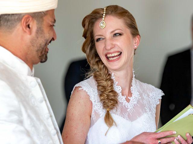 Le mariage de Hakim et Karolina à Beure, Doubs 11