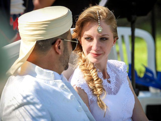 Le mariage de Hakim et Karolina à Beure, Doubs 1