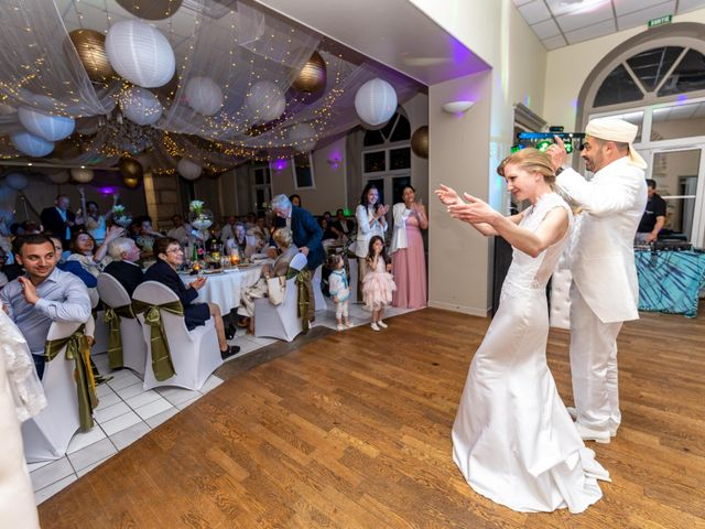 Le mariage de Hakim et Karolina à Beure, Doubs 34