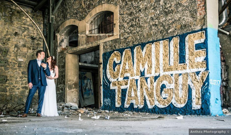 Le mariage de Tanguy et Camille à Saint-Genest-Malifaux, Loire