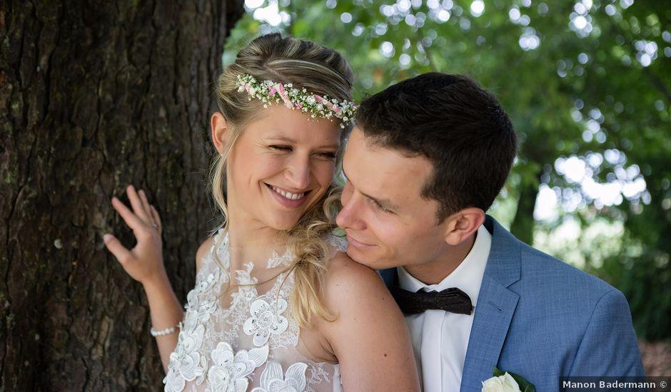 Le mariage de Lucas et Laurence à Kintzheim, Bas Rhin