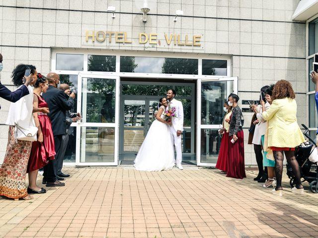 Le mariage de David et Ludmilla à Élancourt, Yvelines 33