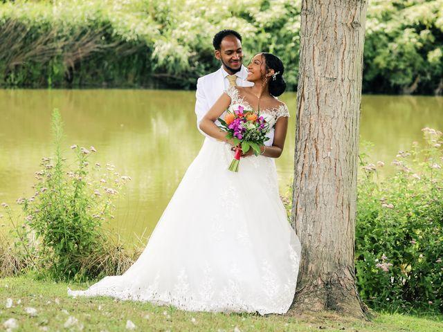 Le mariage de David et Ludmilla à Élancourt, Yvelines 49