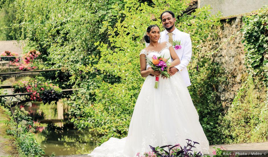 Le mariage de David et Ludmilla à Élancourt, Yvelines