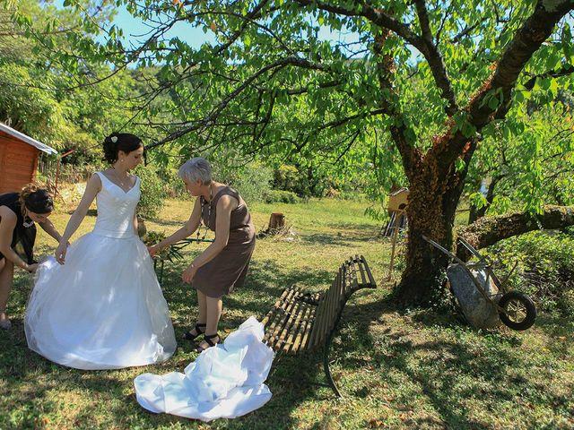 Le mariage de Tom et Mylène à Lamastre, Ardèche 16
