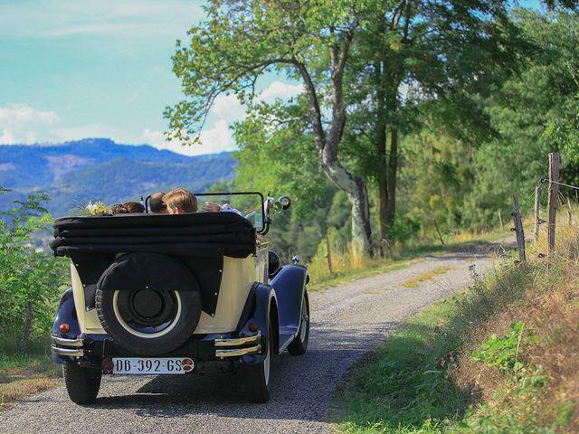 Le mariage de Tom et Mylène à Lamastre, Ardèche 34