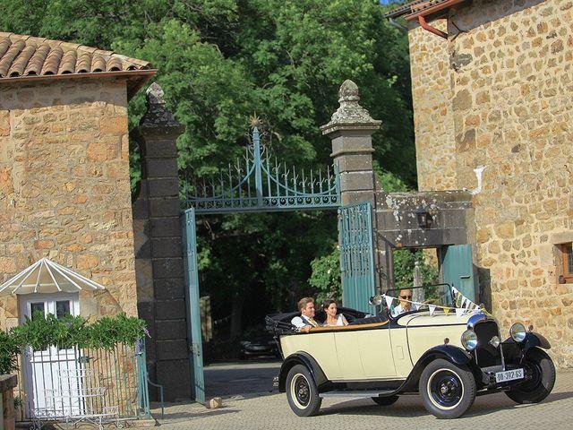 Le mariage de Tom et Mylène à Lamastre, Ardèche 36