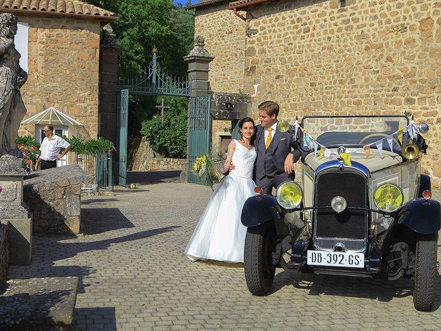 Le mariage de Tom et Mylène à Lamastre, Ardèche 38