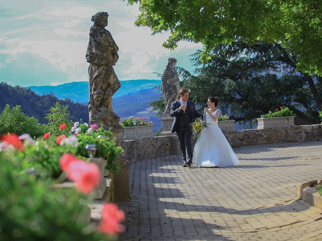 Le mariage de Tom et Mylène à Lamastre, Ardèche 42