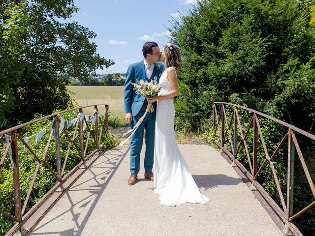 Le mariage de Vincent et Emilie à Chemillé, Maine et Loire 26