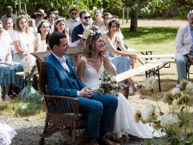 Le mariage de Vincent et Emilie à Chemillé, Maine et Loire 35
