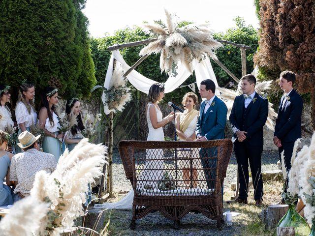 Le mariage de Vincent et Emilie à Chemillé, Maine et Loire 41