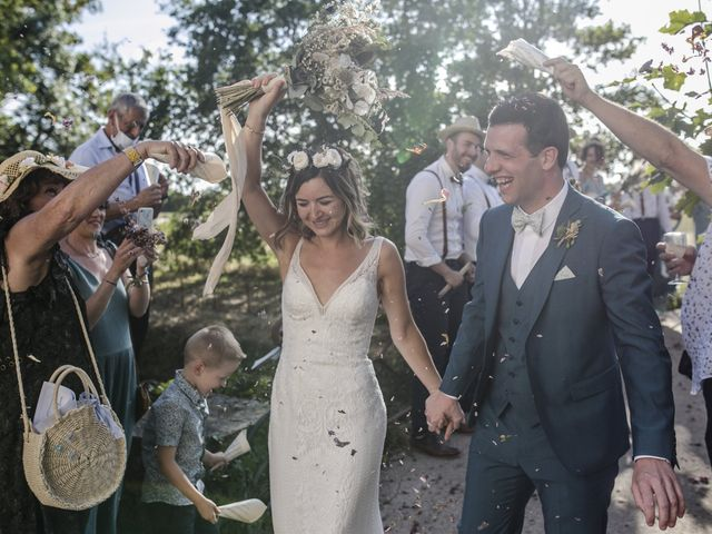 Le mariage de Vincent et Emilie à Chemillé, Maine et Loire 47