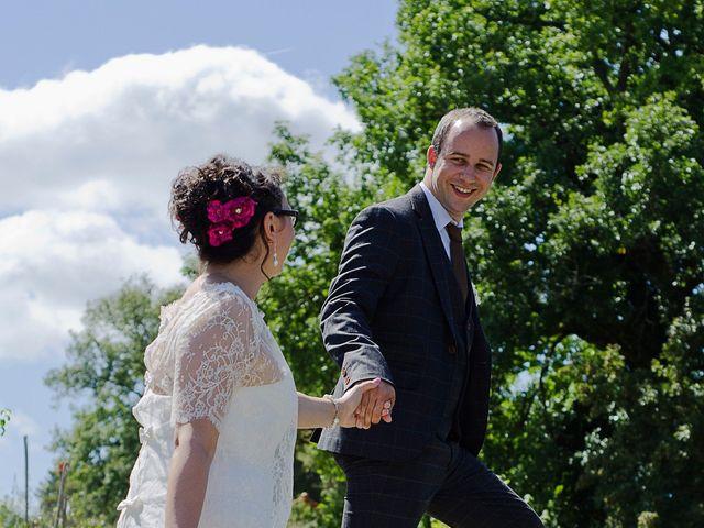Le mariage de Guillaume et Heidi à Dignac, Charente 3