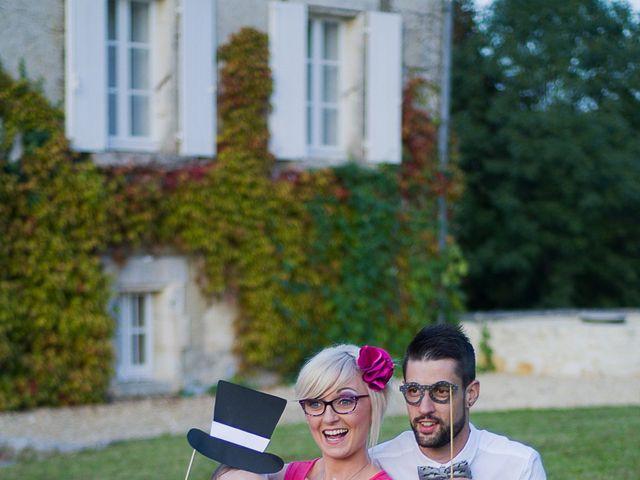 Le mariage de Guillaume et Heidi à Dignac, Charente 17