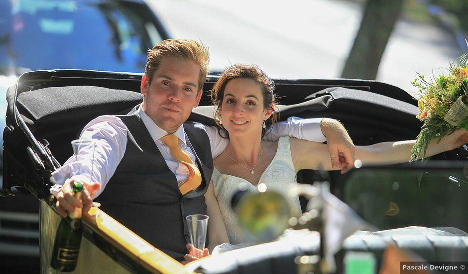Le mariage de Tom et Mylène à Lamastre, Ardèche
