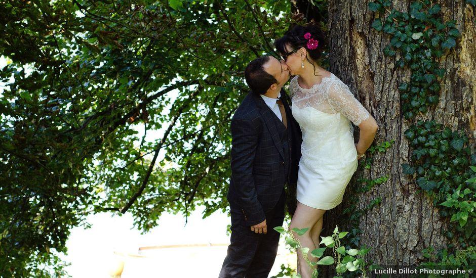 Le mariage de Guillaume et Heidi à Dignac, Charente