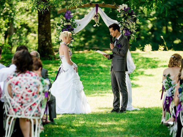 Le mariage de Aurélien et Candice à Landaville, Vosges 14