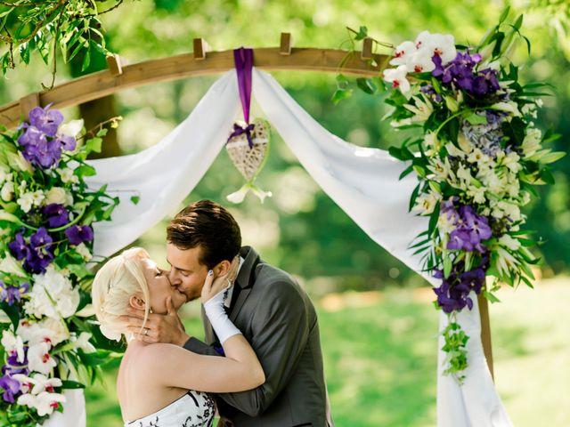 Le mariage de Aurélien et Candice à Landaville, Vosges 18