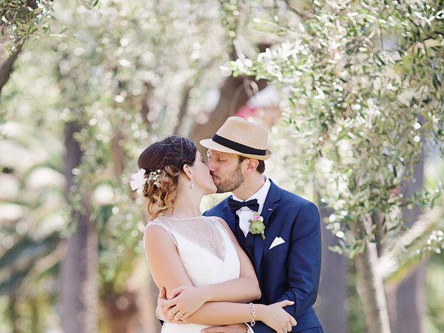 Le mariage de Arnaud et Elodie à Mougins, Alpes-Maritimes 1