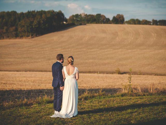 Le mariage de Julian et Mathilde à Bellême, Orne 23