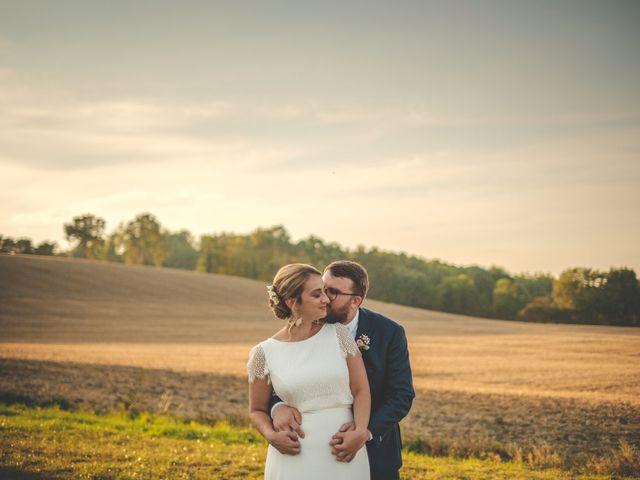 Le mariage de Julian et Mathilde à Bellême, Orne 24