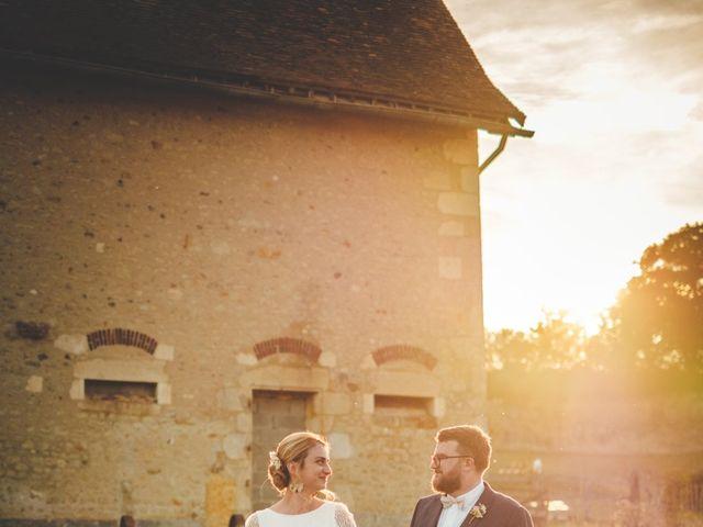 Le mariage de Julian et Mathilde à Bellême, Orne 26