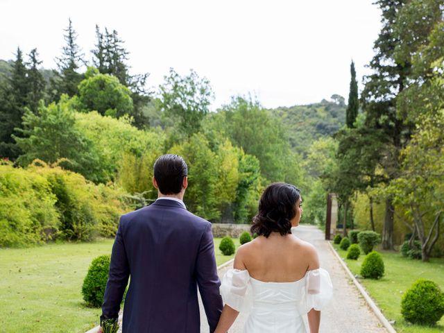 Le mariage de Louis et Sarah à Villeneuvette, Hérault 92