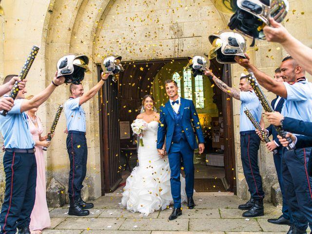 Le mariage de Benjamin et Wendy à Laon, Aisne 1