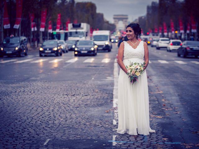 Le mariage de Daniel et Carolina à Paris, Paris 20