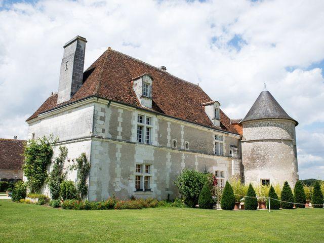 Le mariage de Nicolas et Kristina à Loches, Indre-et-Loire 4