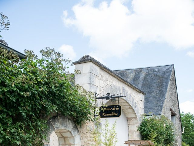 Le mariage de Nicolas et Kristina à Loches, Indre-et-Loire 8