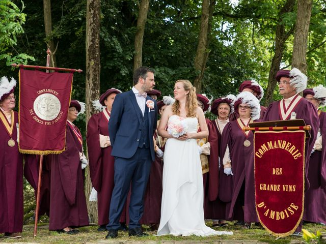 Le mariage de Nicolas et Kristina à Loches, Indre-et-Loire 15