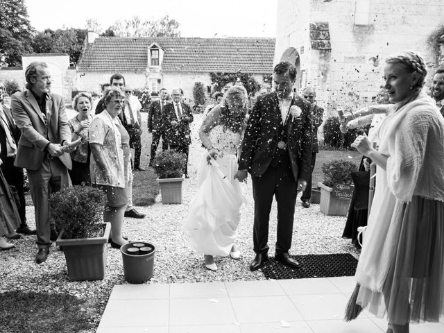 Le mariage de Nicolas et Kristina à Loches, Indre-et-Loire 37