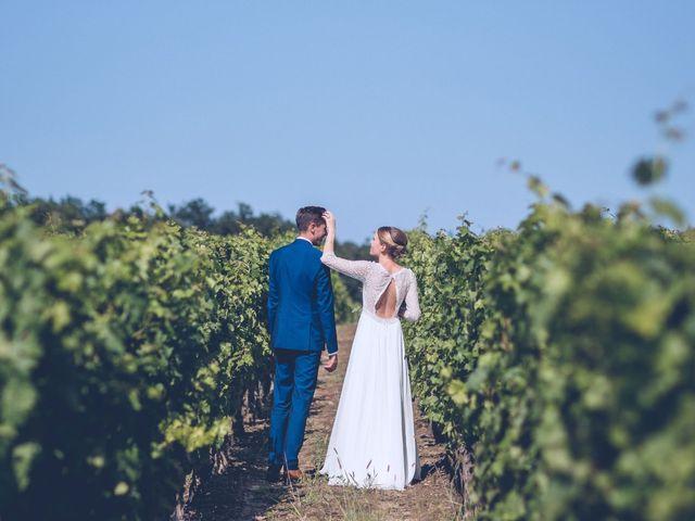 Le mariage de Robin et Eugénie à Saint-Germain-du-Puch, Gironde 20