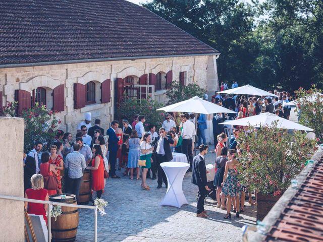 Le mariage de Robin et Eugénie à Saint-Germain-du-Puch, Gironde 35